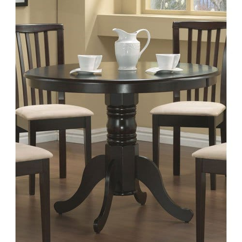 Round dining table best selling furniture under 500 on for Best dining table under 500