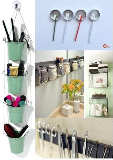 30+ Best and Smartest DIY Small Bathroom Storage Hacks