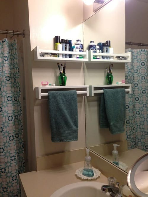 small bathroom storage hacks 5 min - Diy Small Bathroom Storage