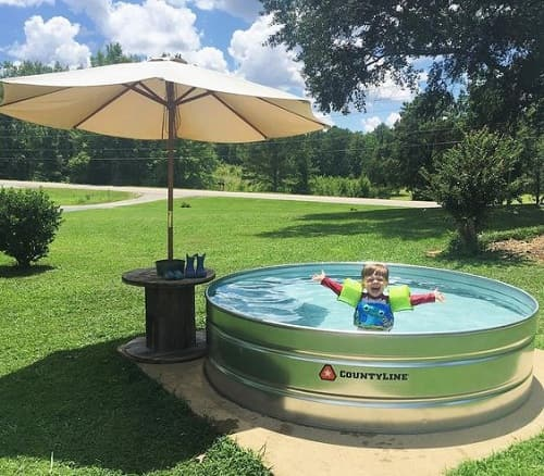 14 Comfortable And Modern Backyard Pool Ideas: 27+ Most Unique DIY Stock Tank Pool Decoration Of This Summer