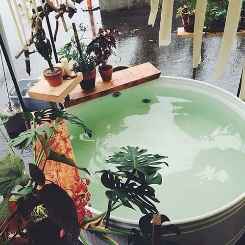 Stock Tank Bathtub Outdoor
