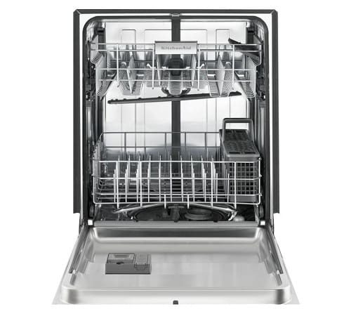 white Stainless Steel 46 DBa Dishwasher 1