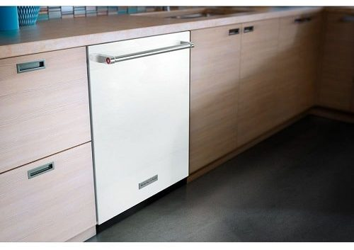 white Stainless Steel 46 DBa Dishwasher 2