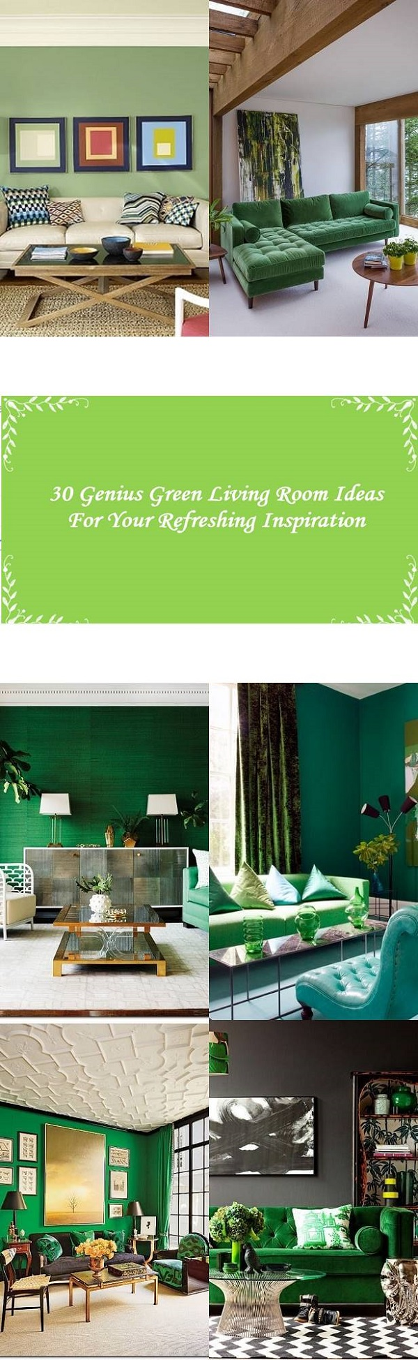30 Genius Green Living Room Ideas Of 2017 For Your Ultimate Inspiration