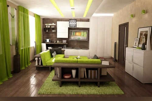 Lime Green Living Room 30 genius green living room ideas of 2017 for your ultimate