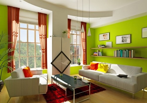 Green Living Room Part 95