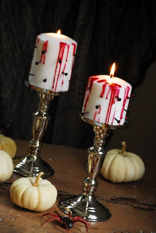 diy bloody candle 1-min