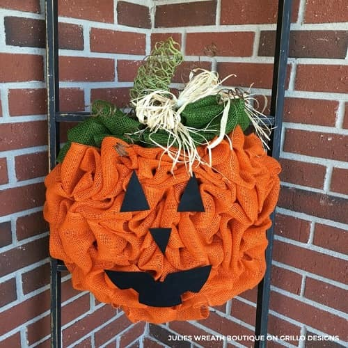 diy pumpkin wreath 22-min