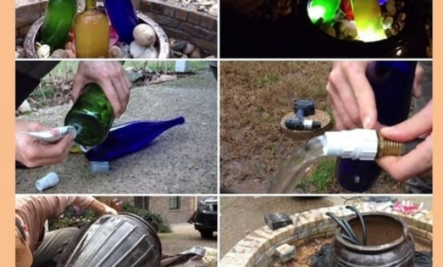 how to make a water feature