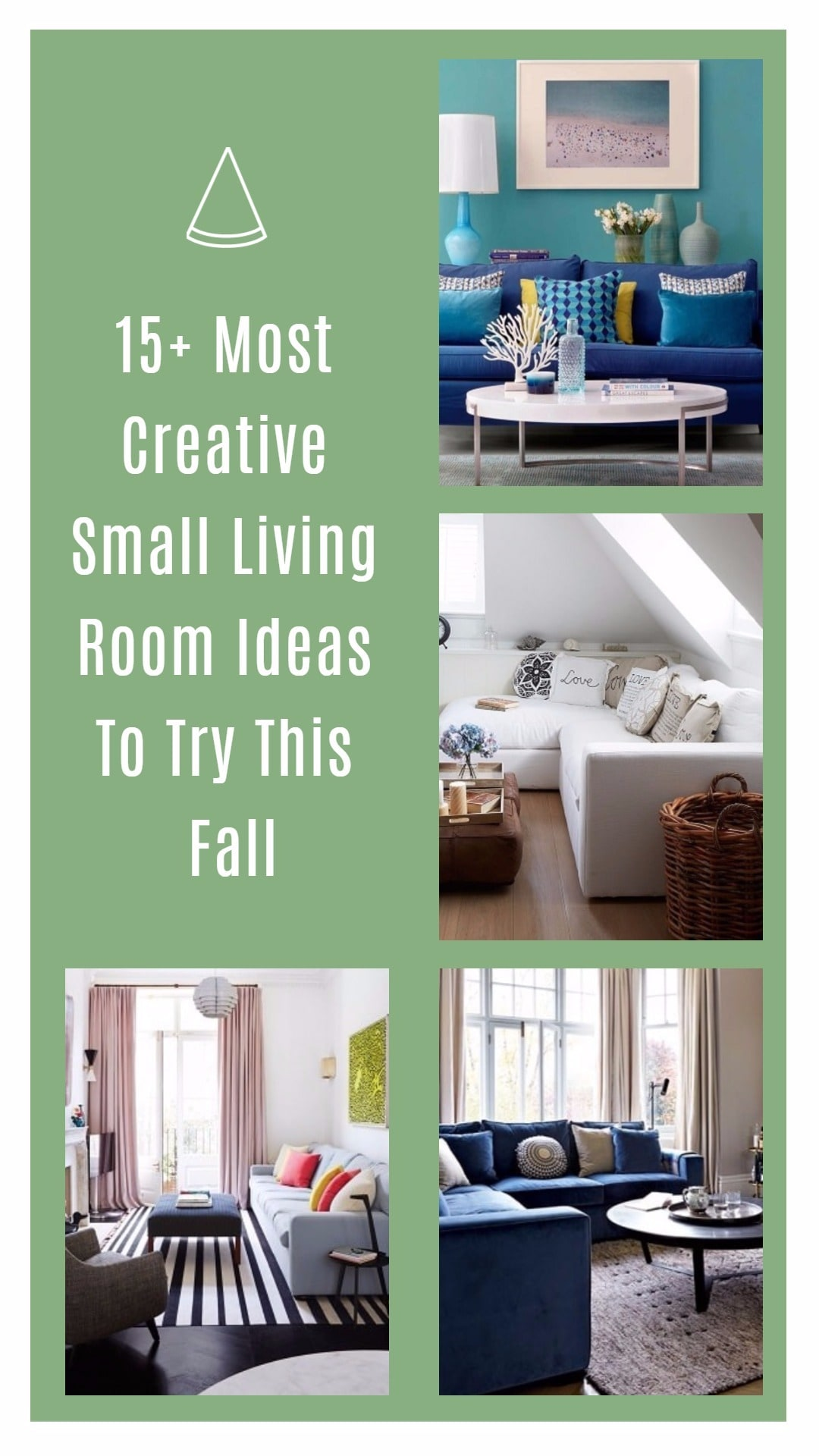 15+ Most Creative Small Living Room Ideas To Try This Fall