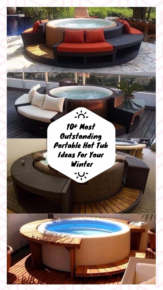 10+ Most Outstanding Portable Hot Tub Ideas For Your Winter
