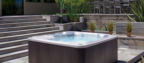 salt water hot tub ideas