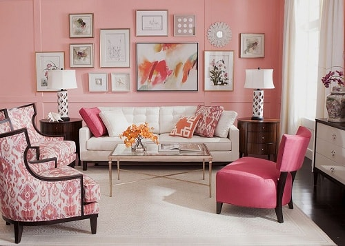 Trendy Living Room Colors