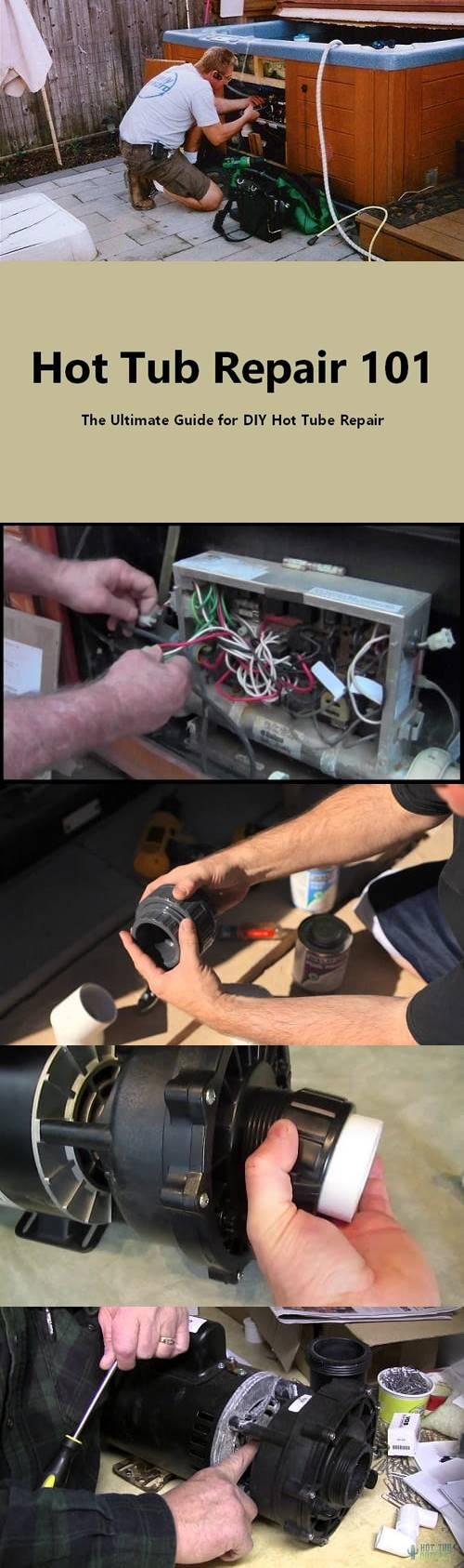 Hot Tub Repair 101: The Ultimate Guide For DIY Hot Tube Repair