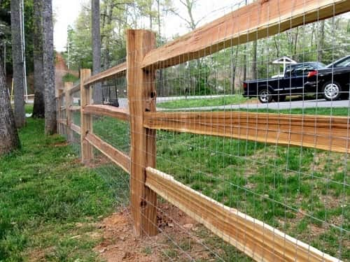cool welded wire fence