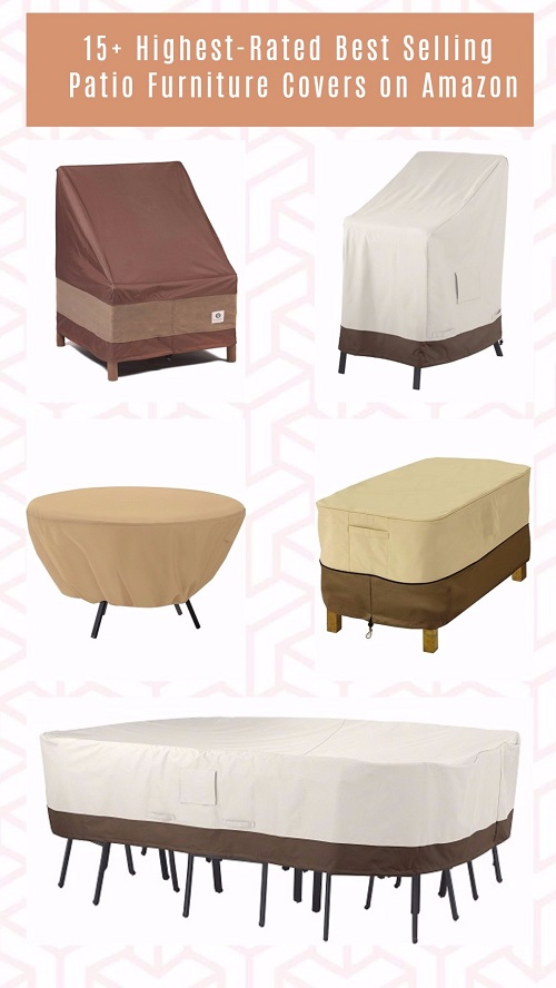 15 highest rated best selling patio furniture covers on for Best rated patio furniture