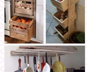 20 Smartest and Easiest DIY Pallet Kitchen Organizers That'll Stunt You (1)