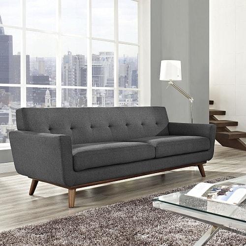 Dark Gray Couch Living Room Ideas | 10 Stylish Dark Gray Couch Living Room For A Chic Neutral Decor