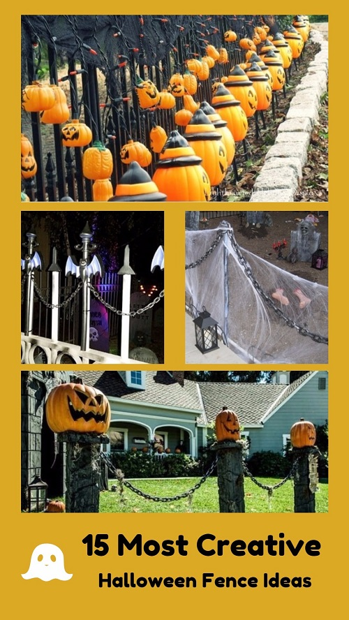 15 Most Creative Halloween Fence Ideas To Try For The Upcoming Event