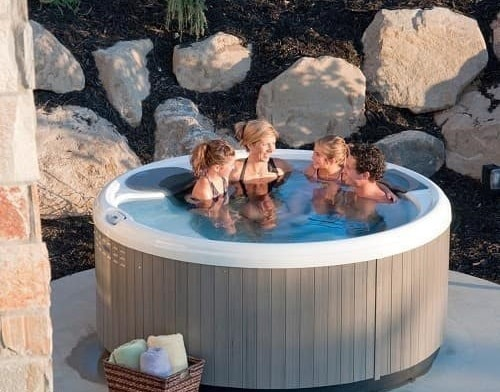 bullfrog hot tub ideas