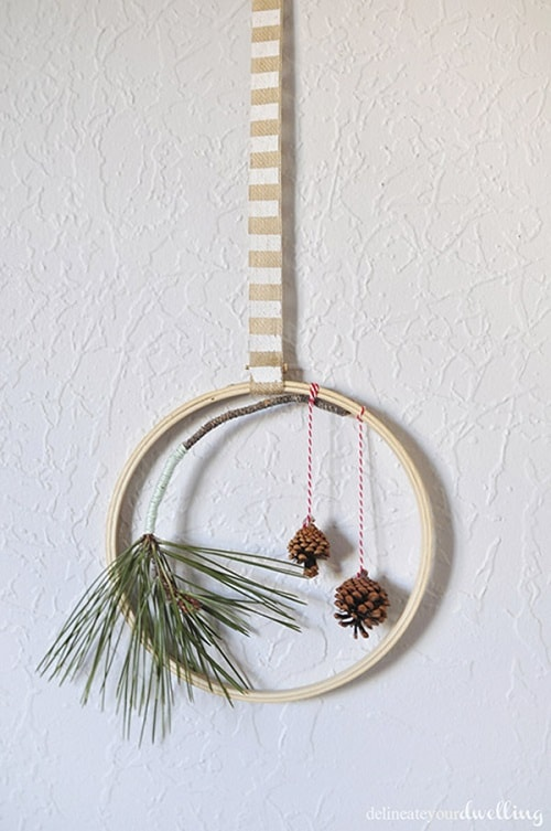 christmas wall decorations ideas 10-min