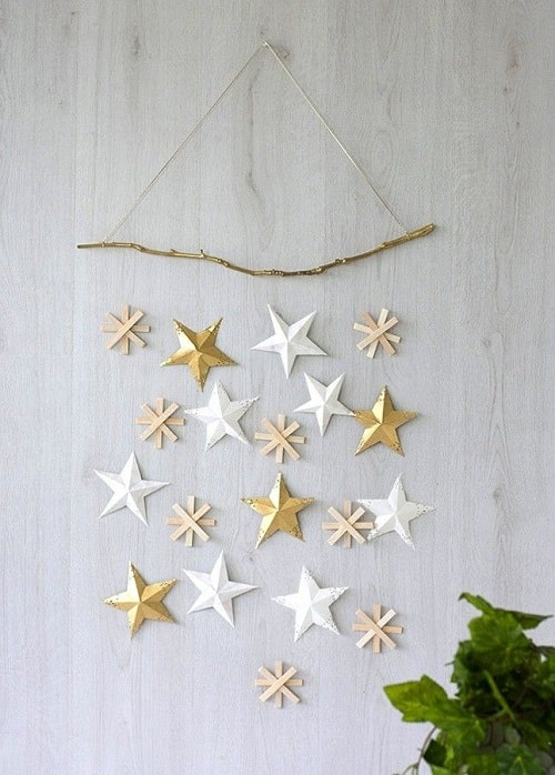 christmas wall decorations ideas 25-min