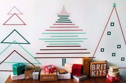christmas wall decorations ideas 8-min