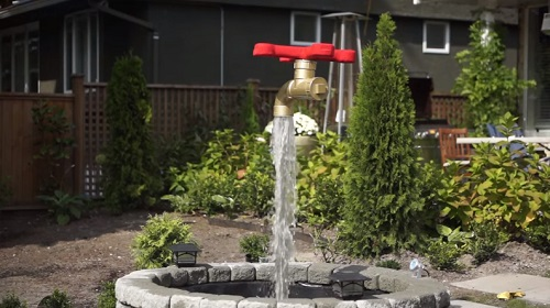 DIY magic faucet fountain 3