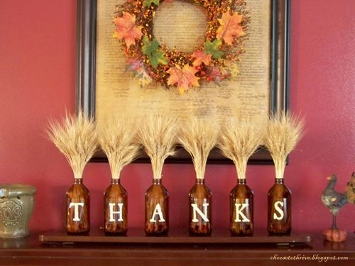 thanksgiving decoration for living room 7