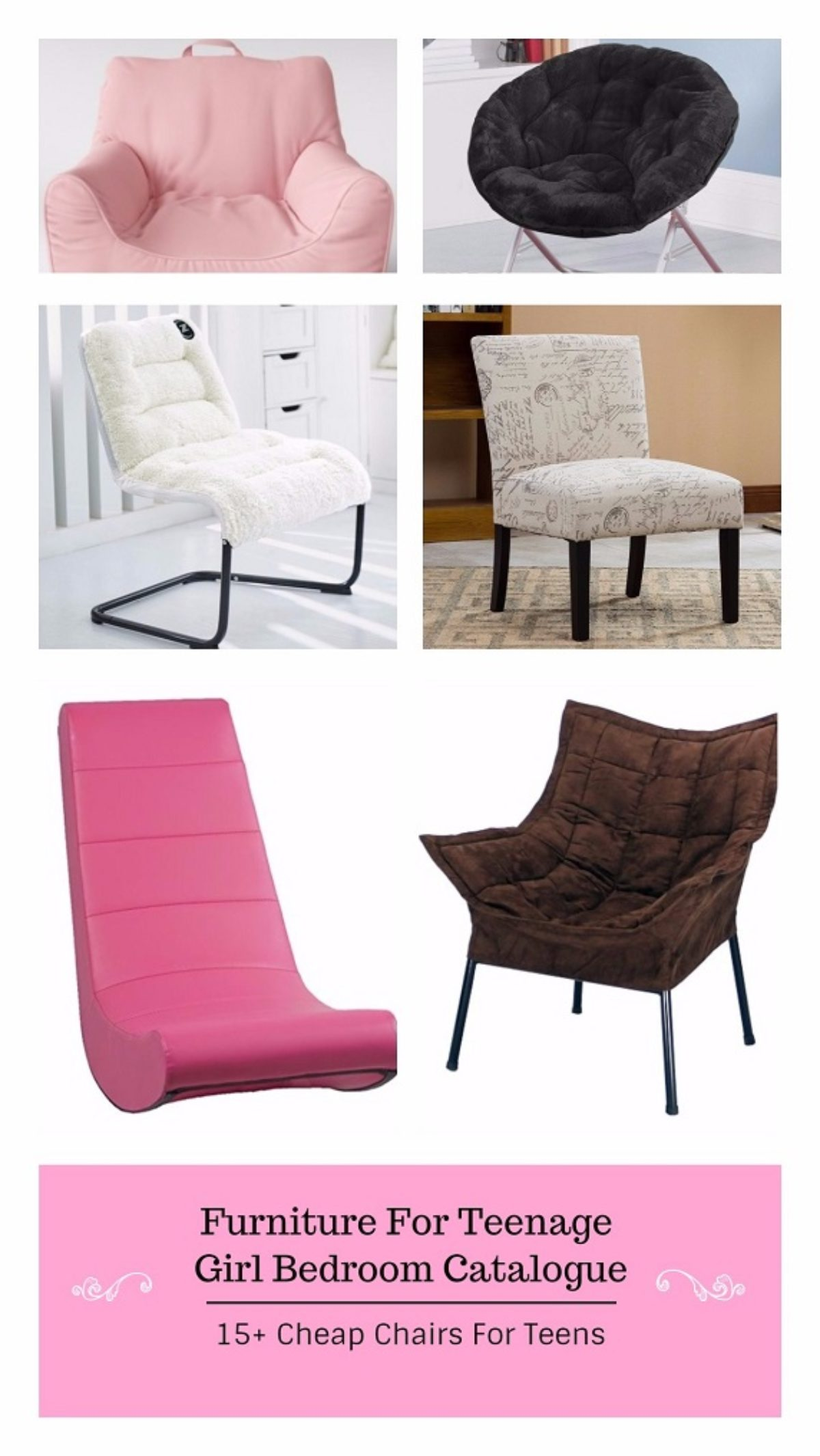Furniture For Teenage Girl Bedroom Catalog: 15+ Cheap Chairs For Teens