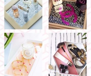 20 Best Classiest DIY Vanity Trays For Bathroom Ideas Youll Love