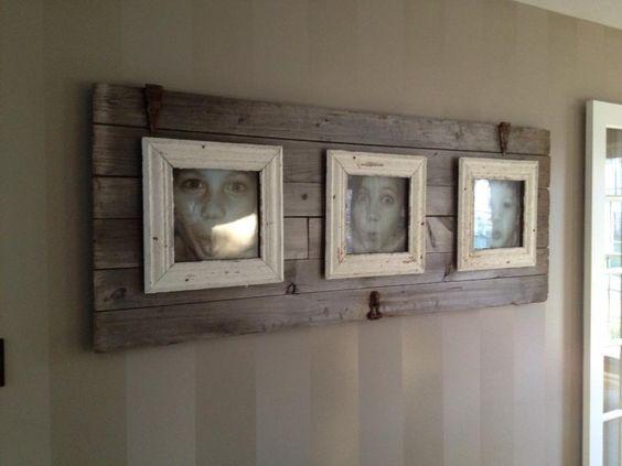 DIY Rustic Pallet Frame 15-min