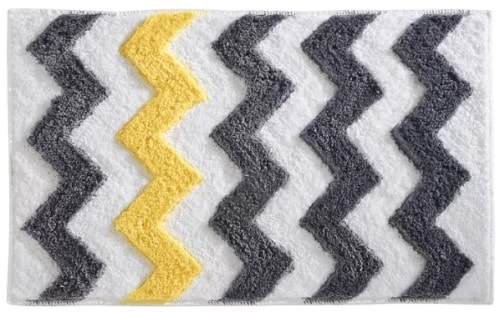 black and gold bathroom rugs 1