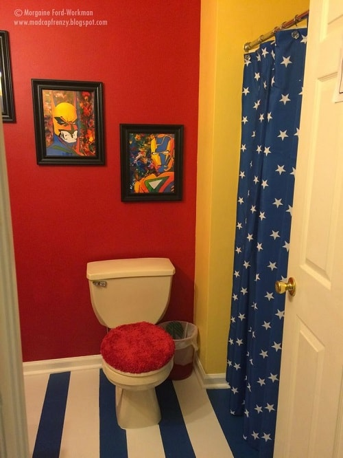 15 Stunningly Festive Cheap Avengers Bathroom Decor Ideas