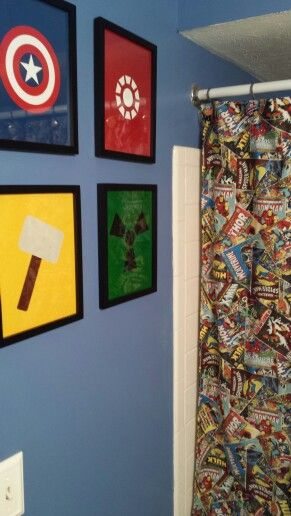 Avengers Bathroom Decor 8-min