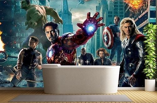 Avengers Bathroom Decor-min