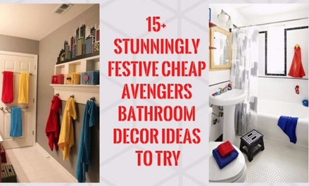 Avengers Bathroom Decor pinterest