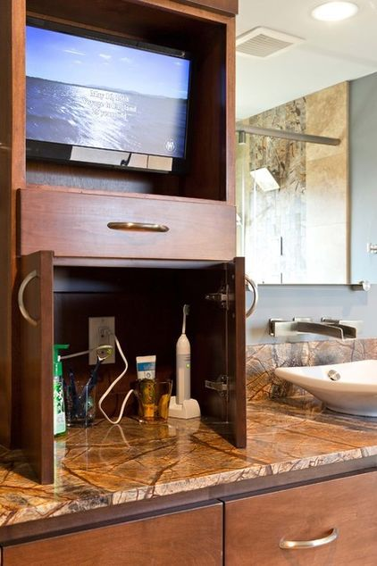 25 Most Stunning Bathroom Counter Storage Tower Designs
