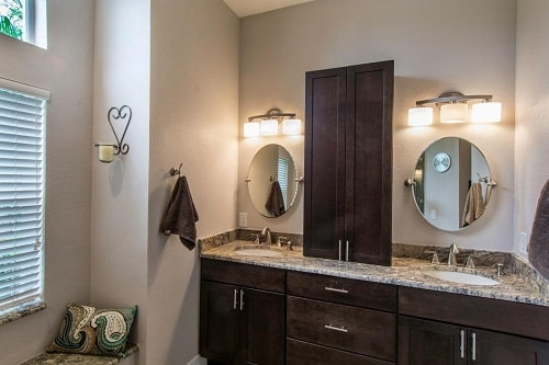 25 most stunning bathroom counter storage tower designs inspiration for Bathroom counter storage tower
