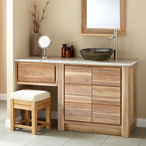 25+ Most Inspiring Bathroom Vanity With Seating Area Ideas To Try