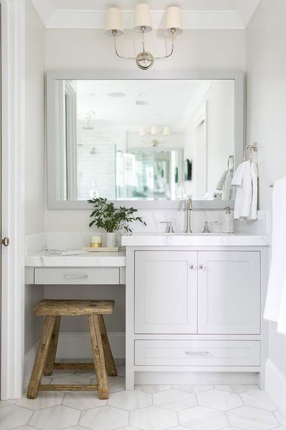 Bathroom Vanity With Seating Area 4-min