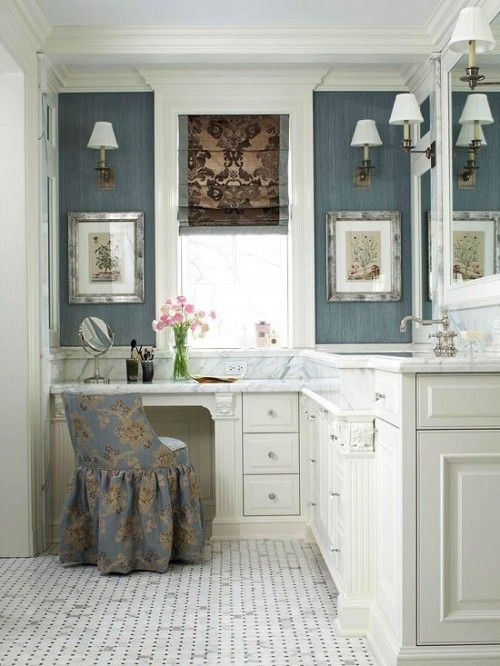 Bathroom Vanity With Seating Area 5-min