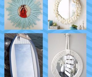 Beach Themed Bathroom Mirrors pinterest