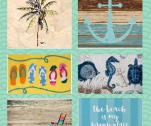 Beach Themed Bathroom Rugs pinterest