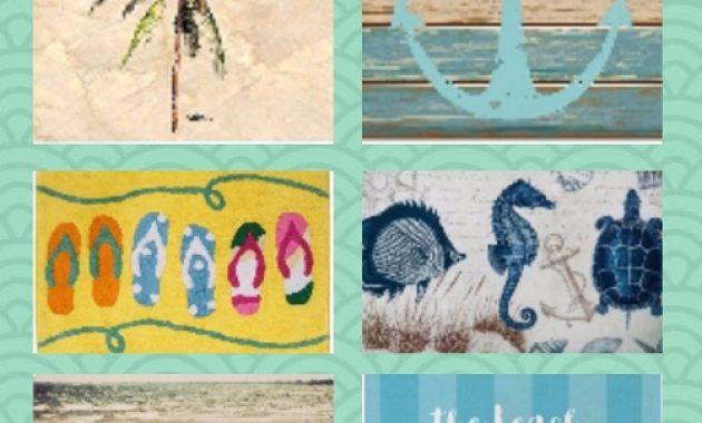 Beach Themed Bathroom Rugs pinterest