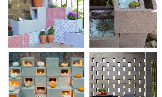 Cinder Block Decorating Ideas pinterest