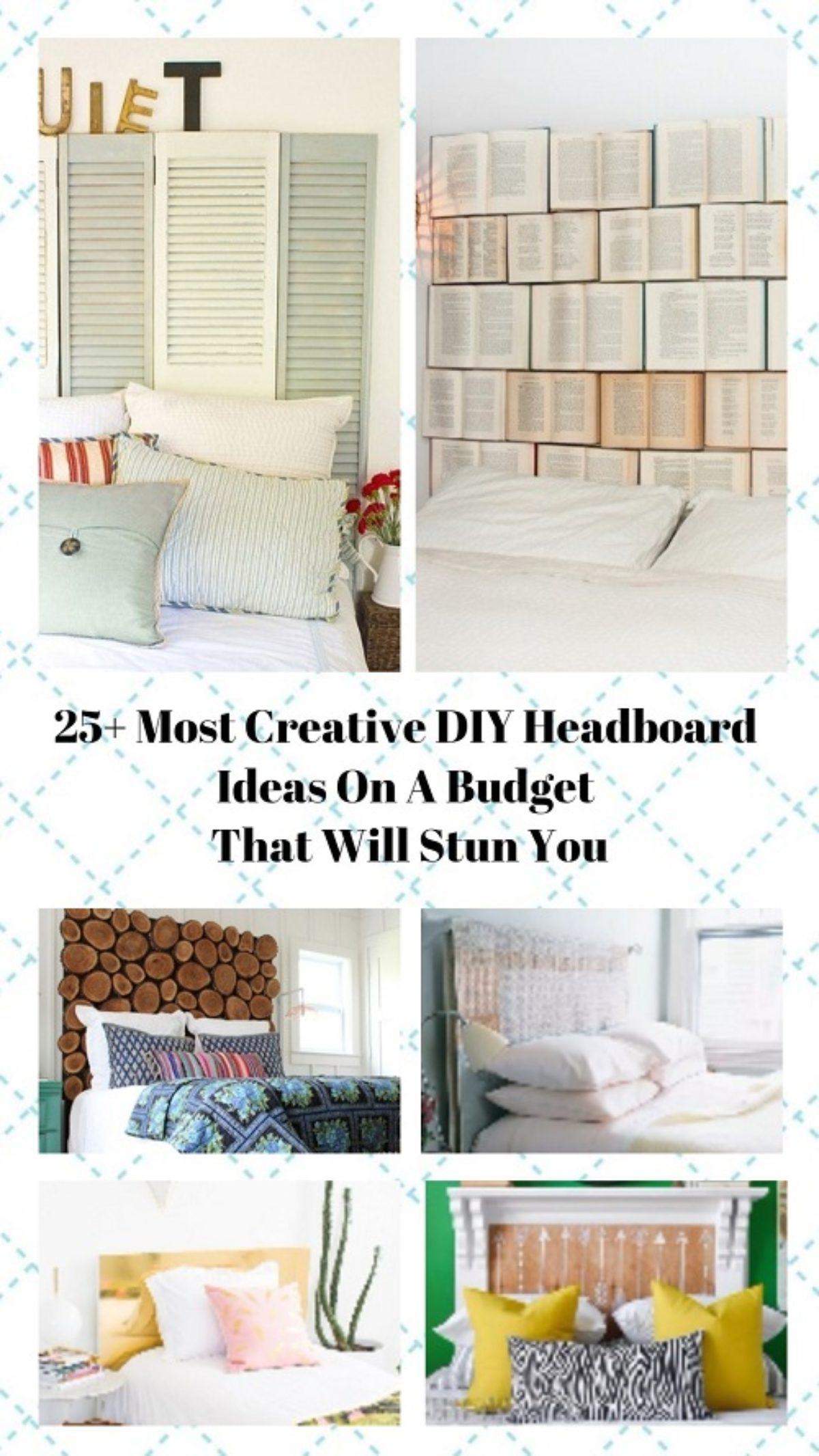 25 Most Creative Diy Headboard Ideas On A Budget That Will Stun You