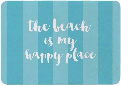 beach themed bathroom rugs 14-min