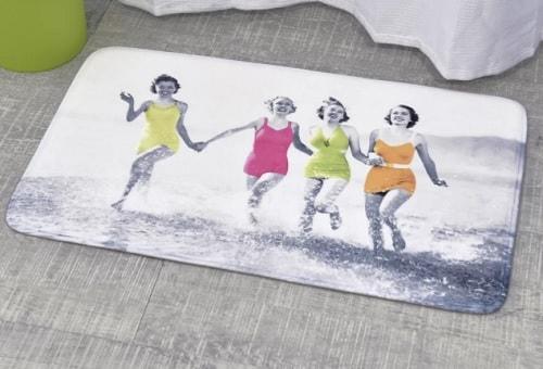 beach themed bathroom rugs 7-min