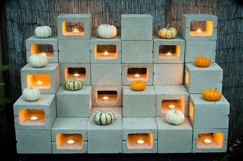 cinder blocks decorating ideas 11-min